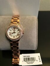 New Authentic Michael Kors rose Gold-Tone Petite Camille Watch MK3253 w/ box tag