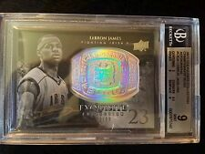 '11-12 LEBRON JAMES EXQUiSiTE CHAMPiONSHiP BLiNG AUTO 73/99 BGS 9[KiNG AUCTiON$]