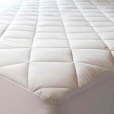 Double  Extra deep Quilted mattress protector cover Fabric Skirt