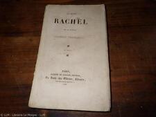 1838.La jeune Rachel et la vieille Comédie française.Théatre.