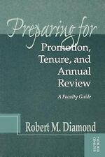 NEW - Preparing for Promotion, Tenure, and Annual Review: A Faculty Guide