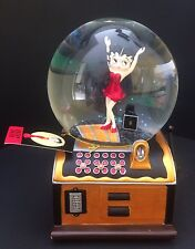 """New Betty Boop Musical (Sankyo)Snow Globe by Westland Giftware """"Be A Lady""""No Box"""