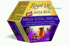 ROYAL VIT MEGA TOTAL 2000MG JALEA Real  20 vIALES DIETISA