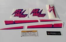Yamaha PW 80 Yzinger Vintage stickers aufklleber autocollants decal graphics
