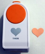 "Fiskars THICK MATERIALS 2"" Large HEART Shape Punch NEW"