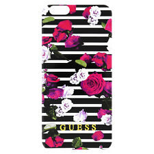 "Guess iPhone 6 6s 4.7"" Spring Collection TPU Case - Rose Stripes - Genuine"