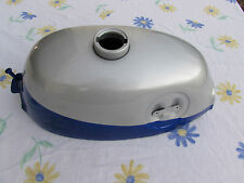 HONDA Z50A 1968 TO 1970  NEW REPRODUCTION GAS TANK BLUE & SILVER (B1)