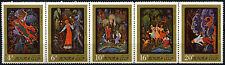 Russia 1975 SG#4472-6 Miniature, Palekh Art Museum MNH Strip Set #D47750