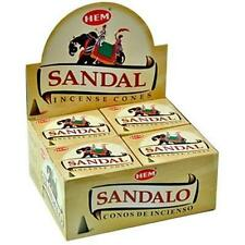 10-Cone Box Hem Sandalwood Incense Cones!