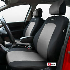 Seat covers universal full set  fit Vauxhall Zafira silver/black - Sport Line