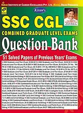 Kiran's SSC CGL Combined Graduate Level Exams by Kiran Prakashan (Paperback)