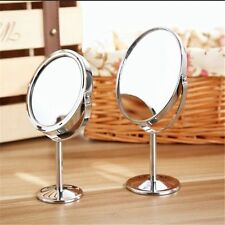 Women Beauty Make up Cosmetic Double Side Normal+Magnifying Stand Mirror Makeup