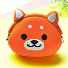 Hot Women Silicone Storage Animal Mini Pouch Coin Bag Change Wallet Purse#7