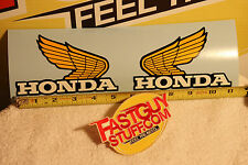 VINTAGE HONDA TANK WINGS CR XL XLR MR MT  decal stickers 125 250 350 450 Vintage