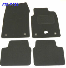 Tailored Black Floor Car Mats for Vauxhall Vectra C 2003 2004 2005 2008 B1320