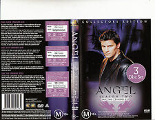 Angel-1999/2004-TV Series USA-Season Two Episodes 12-22 Part Two-3 Disc-DVD