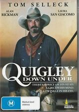 QUIGLEY DOWN UNDER - TOM SELLECK - REGION  4 NEW DVD FREE LOCAL POST