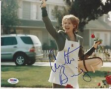 ANNETTE BENING Signed AMERICAN BEAUTY 8 x10 PHOTO w/ PSA/DNA COA