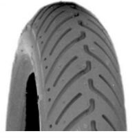 "2 tires foam, 14x3"" (3.00-8), Lt Grey, Tread C917 2 1/4"
