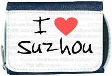 I Love Heart Suzhou Denim Wallet