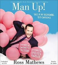 Man Up! : Tales of My Delusional Self-Confidence by Ross Mathews 2013, CD New