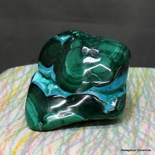 "2.5""Deep Color Natural Malachite Congo Chrysocolla Freeform Crystal Stone Mlt168"