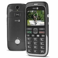 Doro Phone Easy 520X Black Unlocked Mobile Phone + Emergency Button Boxed New