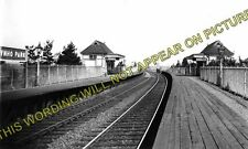 Aynho Park Railway Station Photo. Kings Sutton - Ardley. Banbury to Bicester (1)