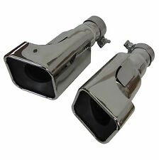 Pair of stainless exhausts tips for Range Rover Sport 2010 Autobiography Petrol
