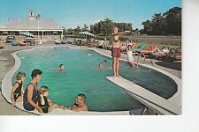 Swimming Pool at Colonial Arms Motel Penns Grove NJ