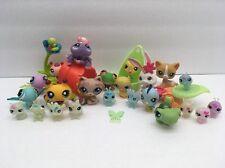 LPS Littlest Pet Shops 28 Piece Lot hasbro Bug Garden Tattoo Cat Animal Set Toys
