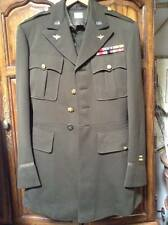 WW2 US Army AAF Officer pilot Brown Coat Jacket trousers Uniform sterling Silver