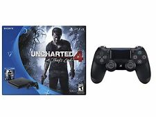 PlayStation 4 Slim 500GB Console Uncharted 4Bundle + PS4 EXTRA Controller