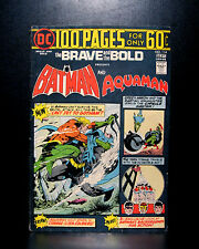 COMICS: DC: Brave and the Bold #114 (1974), Batman/Aquaman, 100 pages - RARE