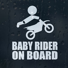 Baby Rider On Board Car Decal Vinyl Sticker