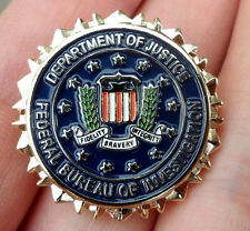US GOVERNMENT AGENCY LOGO SEAL SUIT PIN INSIGNIA BADGE-A2062