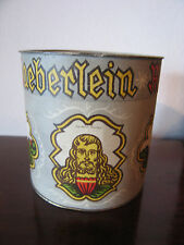 Vintage Antique German Heinrich Haeberlein Nurnberg Cookie Tin / Jar