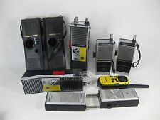 Walkie Talkie Lot of 7 Untested For Parts Realistic Holiday Motorola