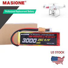 New 3000MAh Lipo Battery For DJI Phantom 1 CX-20 FC40 Quadcopter 11.1V 3S 25C