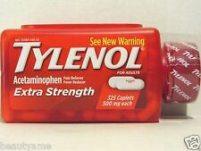 TYLENOL Extra Strength Acetaminophen 500mg, 325 Caplets * Pain & Fever Reducer *