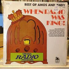 [RADIO/SPOKEN WORD]~NM LP~AMOS 'N ANDY~The Best Of Amos N Andy~[Volume 2~1949]~