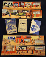 Pepys Express Railway Card Game GWR LMS LNER SR First Edition c 1947