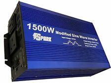 1500w (3000W peak) soft start power inverter modified 1500 watt 12v 220v-240v