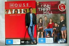 HOUSE. Season 3, 6 DVD Set & ONE TREE HILL, Season 2. 6 DVD Set.