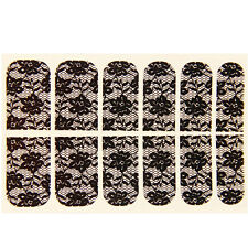 Fashion 3D DIY Nail Art Tips Crystal Sticker Decal Full Wraps Decorations