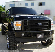2008 - 2014 Super Duty Grill Insert Decal F-250 F-350 F-450 Hood Stickers CHROME
