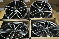"18"" NEW AUDI RS6 AVANT STYLE WHEELS RIMS FIT A3 A4 A6 S3 S4 S6 RS4 Q3 TT 1196"