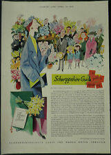 Schweppes Schweppshire How To Open A Flower Show George Him 1959 1 Page Advert