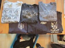 Mens tee-shirts good condition Size Large