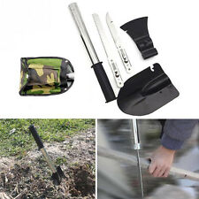 Survival Emergency Camping Hiking Knife Shovel Axe Saw Gear Survival Tools Set